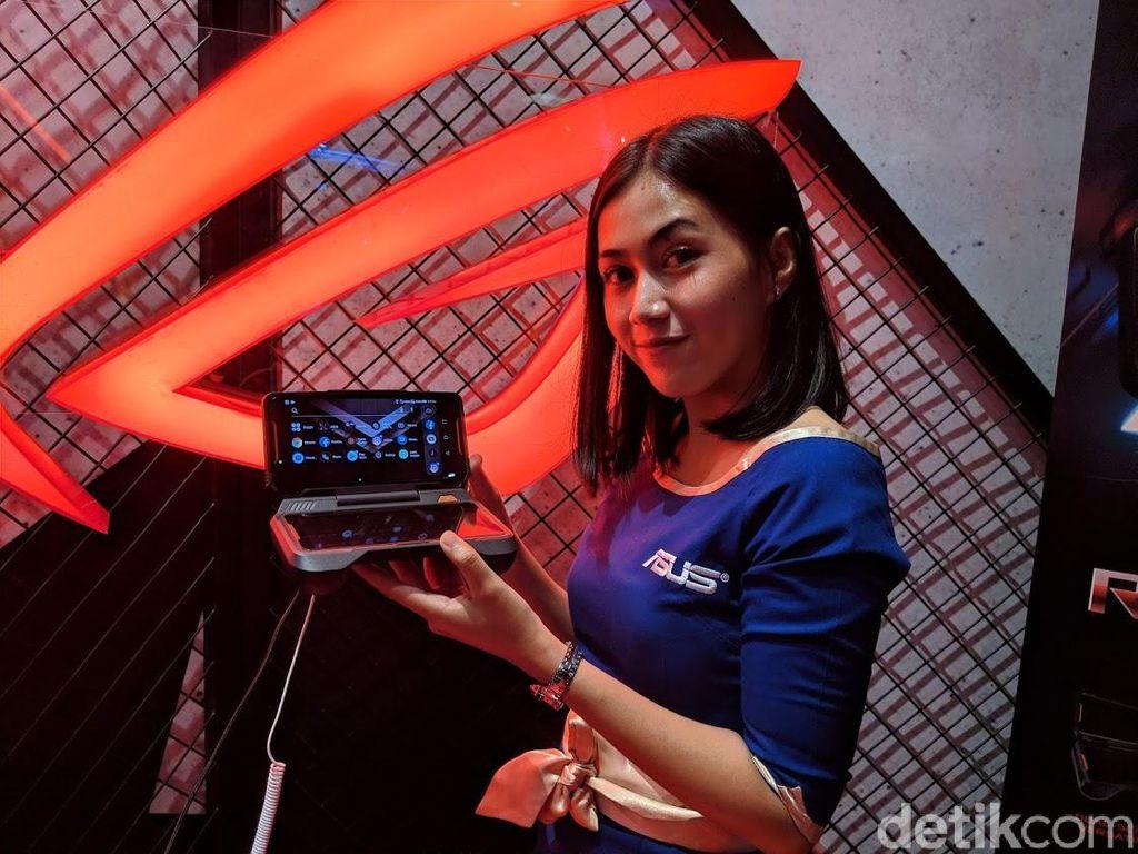 ROG Phone pertama kali diperkenalkan di ajang Computex 2018 di Taiwan. Foto: Adi Fida Rahman/detikINET