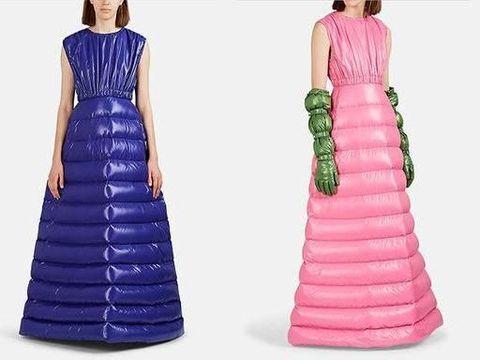 Gaun yang bisa mengahangatkan dijual Rp 38 juta.