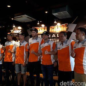 Pebalap Internasional Ramaikan Final Balap Supermoto 2018 di Malang