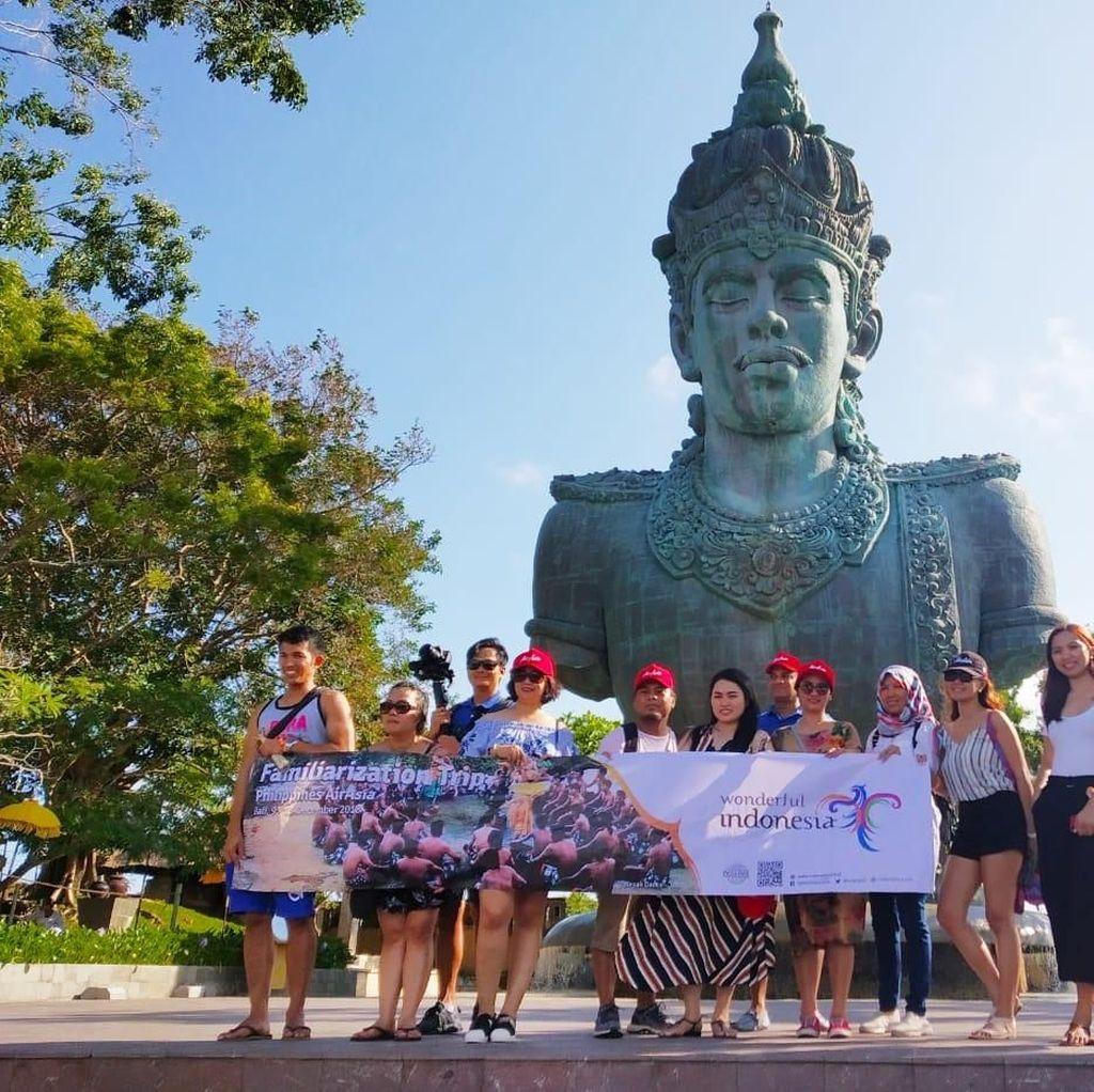 Air Asia Famtrip Bareng Travel Agent dan Vlogger Filipina ke Bali