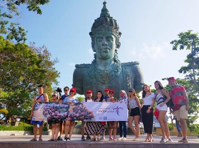 Air Asia Boyong Travel Agent dan Vlogger Filipina ke Bali