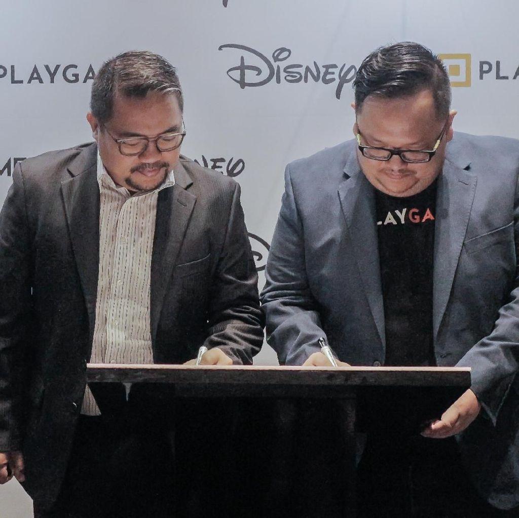 Startup Game Indonesia Kolaborasi dengan Disney