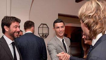 Hangatnya Pesta Natal Pertama Ronaldo di Juventus