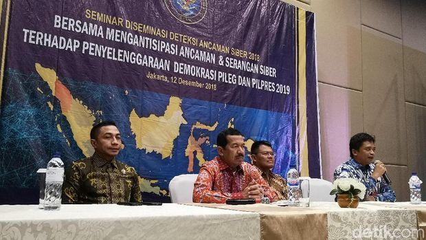 Ancang-ancang 'Benteng Siber' Indonesia Hadapi Pemilu 2019