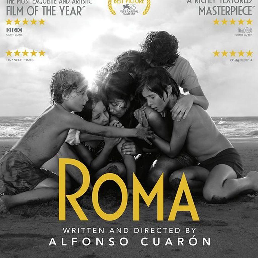 Roma Cetak Sejarah Baru di Nominasi Oscar 2019