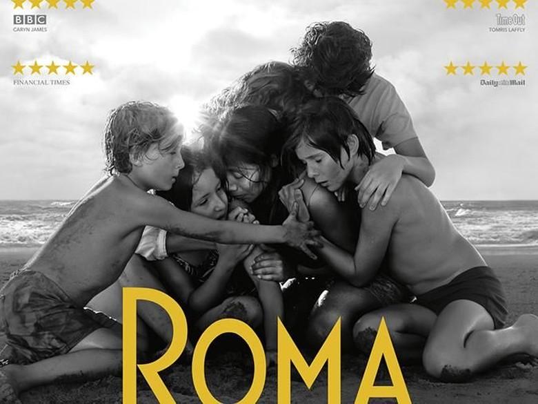 Roma: Hidup Tak Pernah Sesederhana Film Hitam Putih