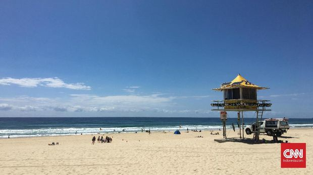 Wisata Pantai sampai Ketinggian di Queensland*