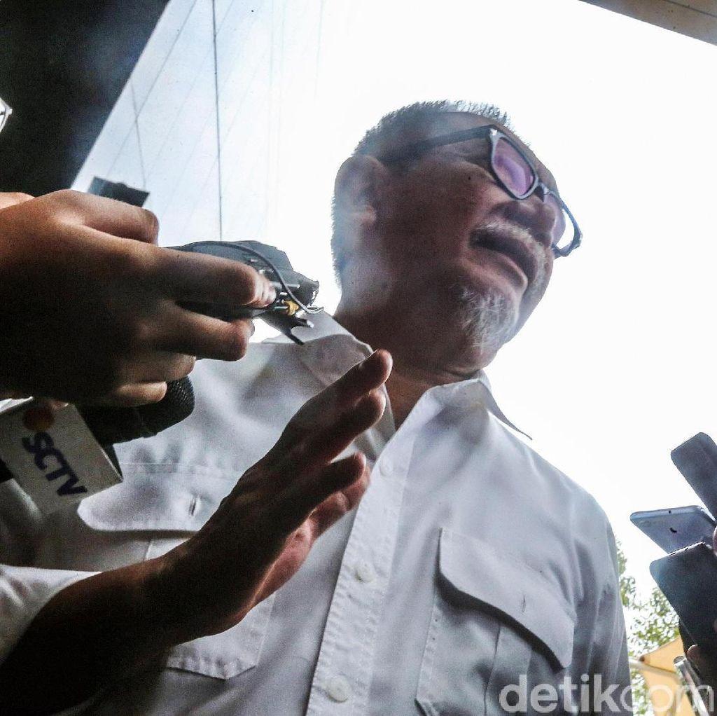Ekspresi Deddy Mizwar Diperiksa KPK Soal Meikarta