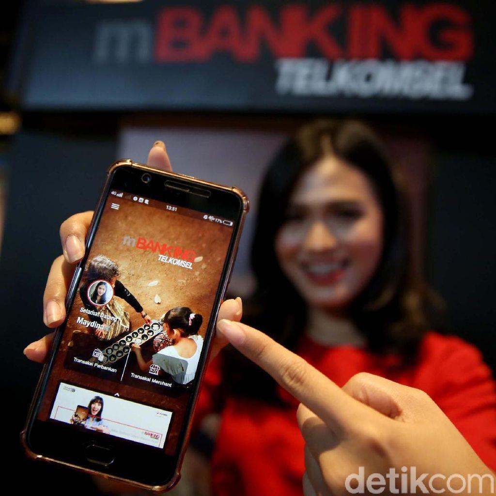 Pakai Aplikasi mBanking Telkomsel Bisa dengan Sinyal Satu Bar