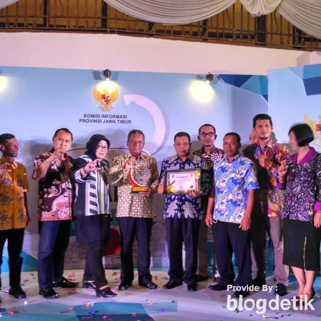 Jelang Akhir Tahun, Pacitan Raih PPID Award Kategori Sangat Informatif