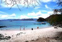 Pemandangan Pantai Pink (Shinta/detikTravel)