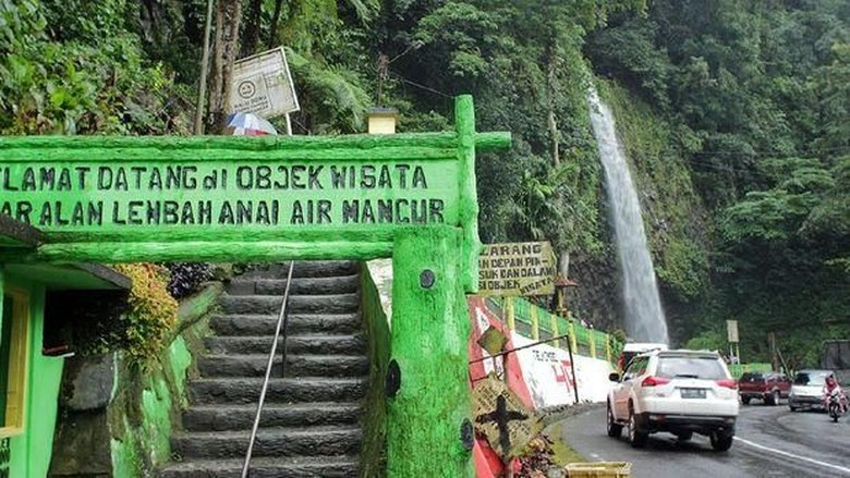 Air Terjun Lembah Anai  (Randy/detikTravel)