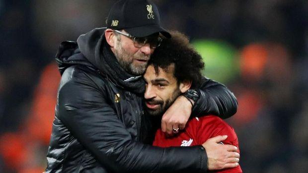 Skuat arahan Juergen Klopp dinilai Jose Mourinho sebagai tim yang beruntung. (