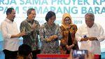 Menteri Basuki Resmikan SPAM di Semarang Barat