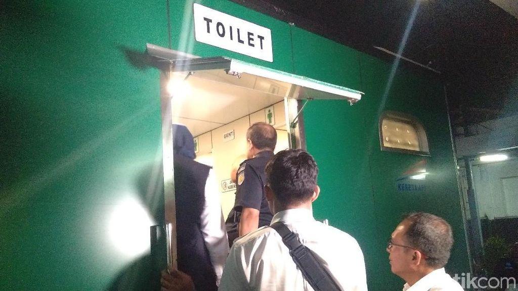 Jangan Bingung! Kini di Stasiun Tugu Yogya Ada Toilet Portable