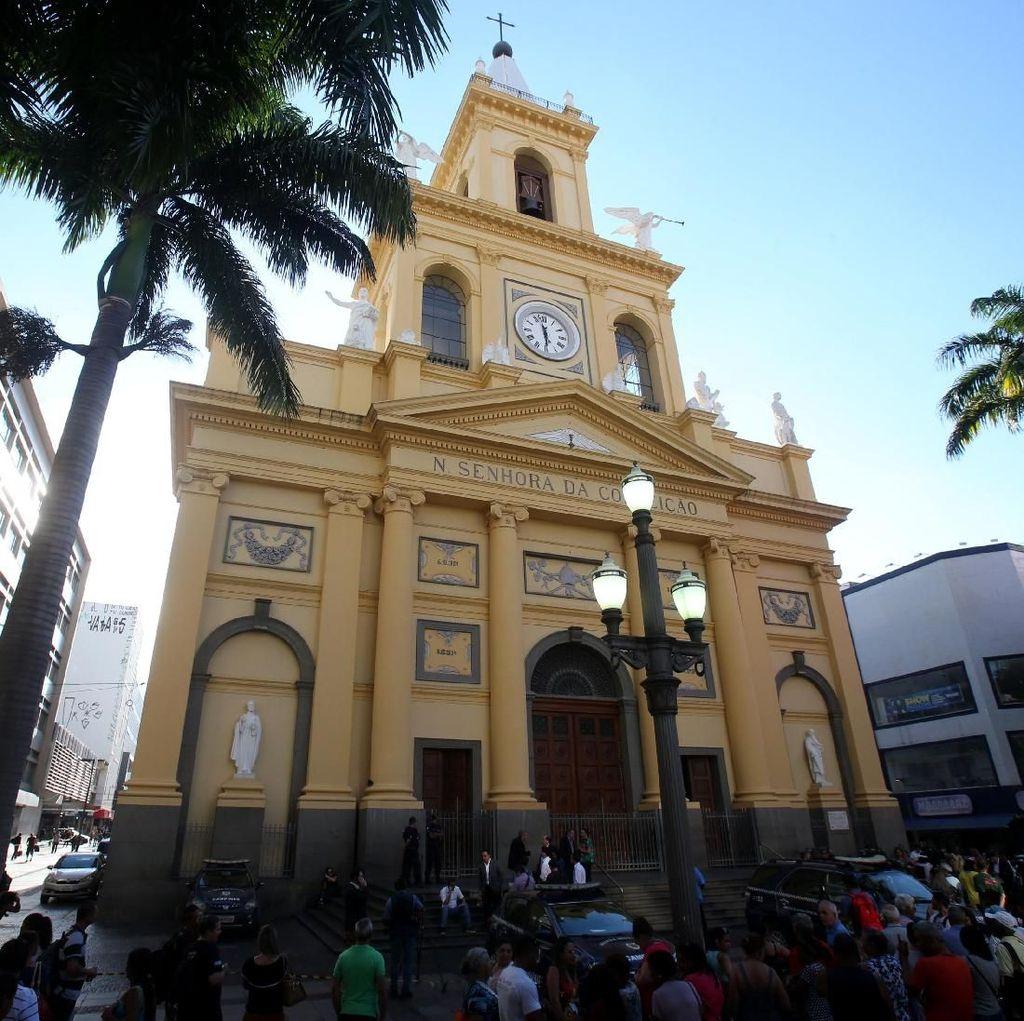 Penembakan di Gereja Brasil Tewaskan 4 Orang, Pelaku Bunuh Diri