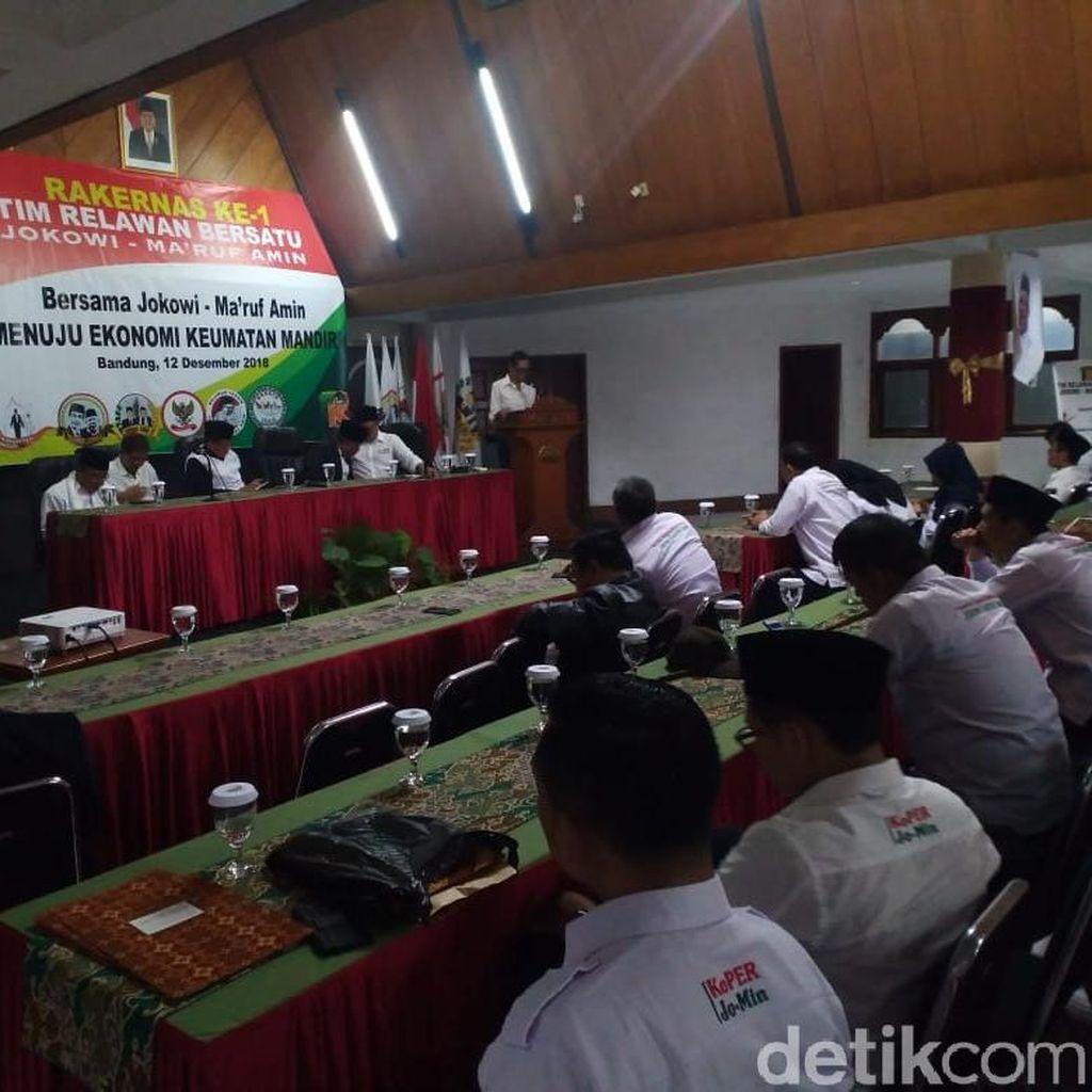 Relawan Jokowi-Maruf Siap Tangkal Isu Agama di Jabar