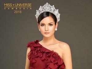Nggak Bisa Bahasa Inggris, Finalis Miss Universe Kamboja Nangis