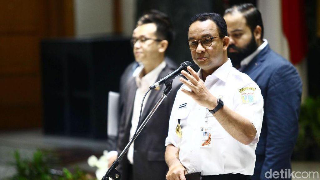 Anies Baswedan Hadiri Pelantikan Anggota Baru HIPMI Jaya