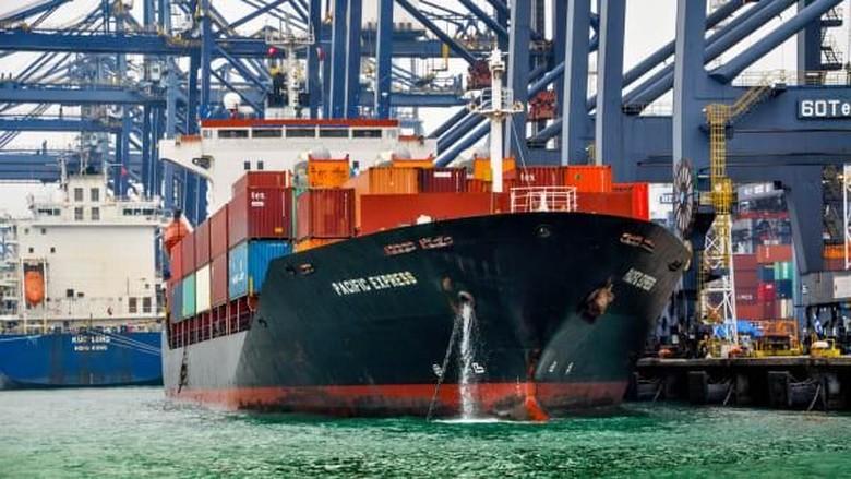 Foto: Pelabuhan Kontainer Hong Kong (Brad Lendon/CNN Travel)