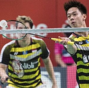 Marcus/Kevin Mundur dari BWF World Tour Finals