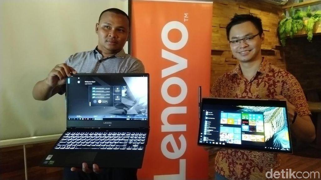 Laptop Lenovo Yoga 730 dan Legion Y530 Sambangi Semarang