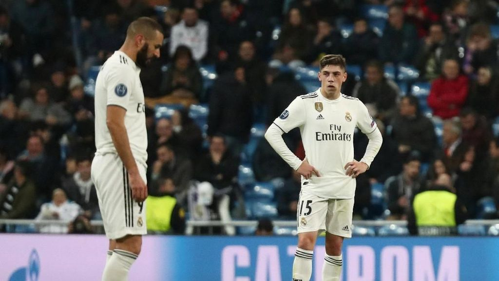 Madrid Derita Kekalahan Kandang Terbesar di Kompetisi Eropa