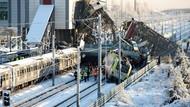 Dahsyatnya Tabrakan Dua Kereta Cepat di Turki