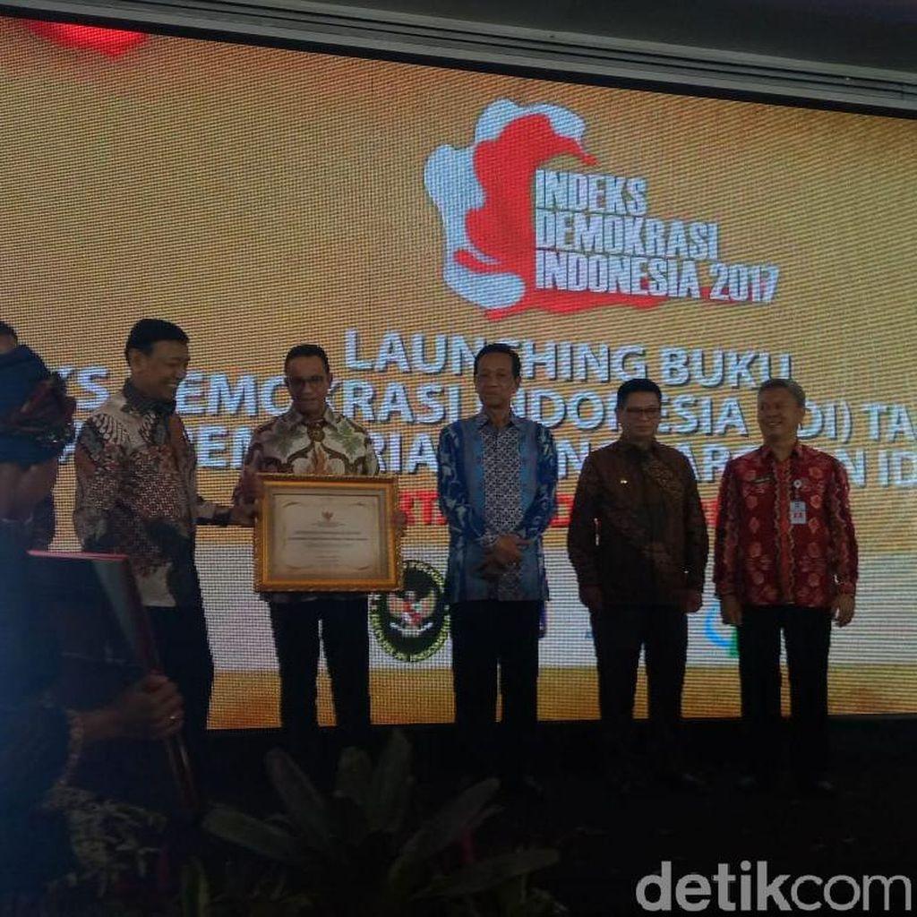 DKI Raih Peringkat Pertama Indeks Demokrasi Indonesia