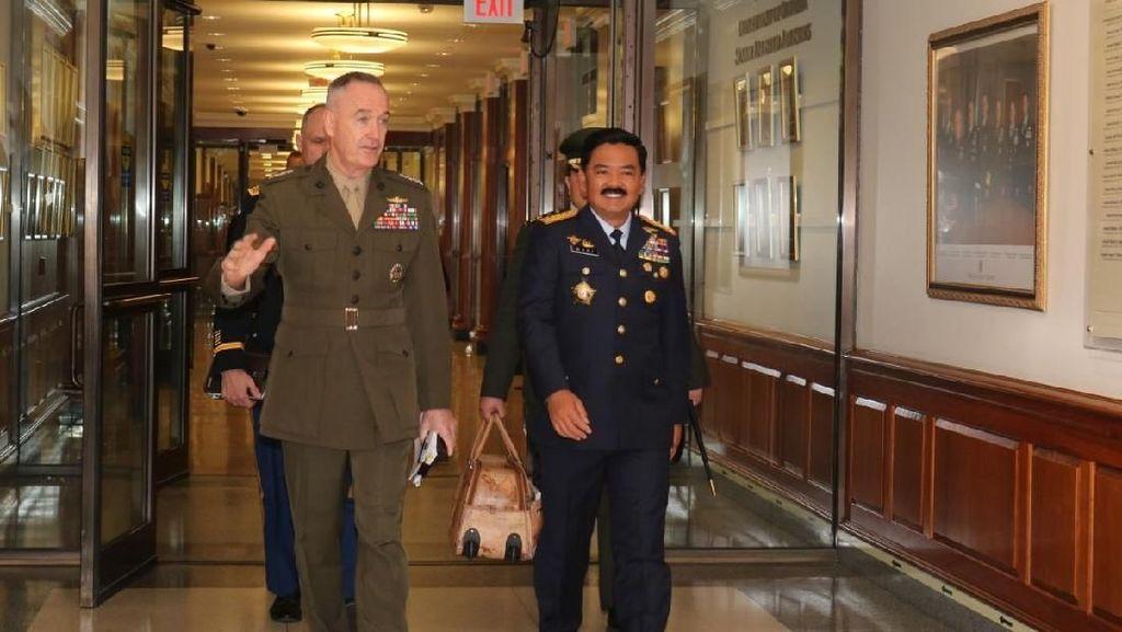 Panglima TNI Kunker ke Naval Station Norfolk di AS