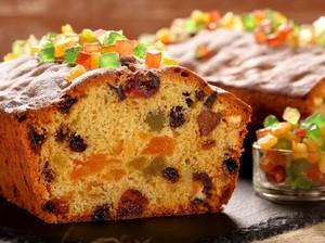 Fruitcake Tetap Jadi Sajian Soesial Natal Keluarga Desiree Sitompoel