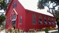Cuma 2 di Dunia, Ini Gereja Merah Kebanggaan Probolinggo