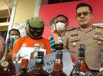 Suplai Miras Oplosan ke Tempat Hiburan, Pria Cirebon Masuk Bui
