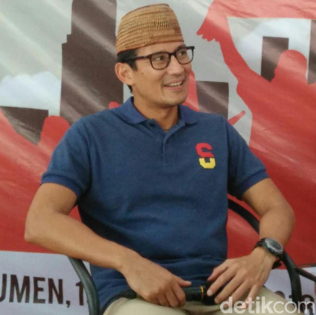 Sandiaga Angkat Bicara Soal Perluas Pos Tempur ke Jateng-DIY