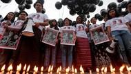 Aksi Solidaritas Jurnalis Dunia Tolak Kriminalisasi Wartawan Myanmar
