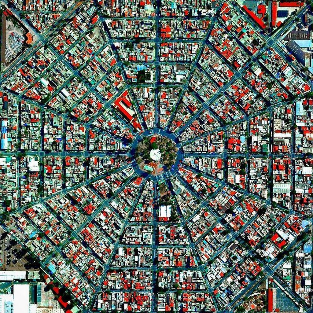 Plaza Del Ejecutivo, Meksiko. Foto: Evo.ru