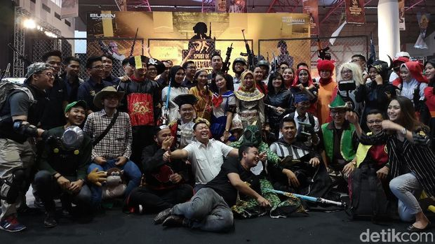 Milenial BUMN Adu Tangkas eSport di Spirit of Milennials Game Day