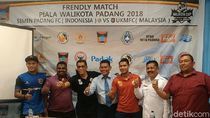Uji Coba, Semen Padang Jajal Kekuatan Tim Malaysia