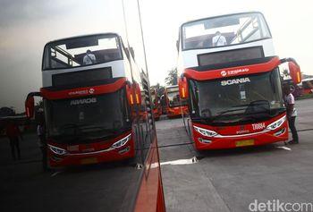 Ini Dia Bus Yang Akan Arak Persija Keliling Jakarta