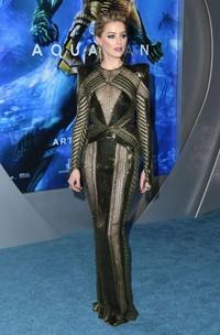 Film Aquaman sendiri mendapat banyak pujian, tak terkecuali Amber Heard yang aktingnya jempolan (Getty Images)