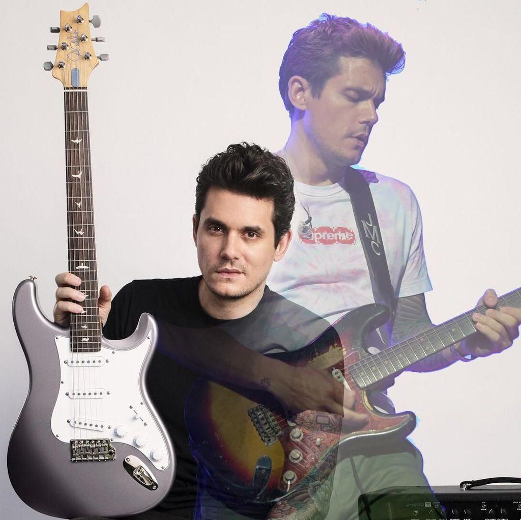 Cerita John Mayer Beralih dari Fender Lalu Bikin Signature Gitar PRS