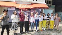 Soft Launching Pilpres Happy No Hoax, Timses Jokowi Goyang Dayung