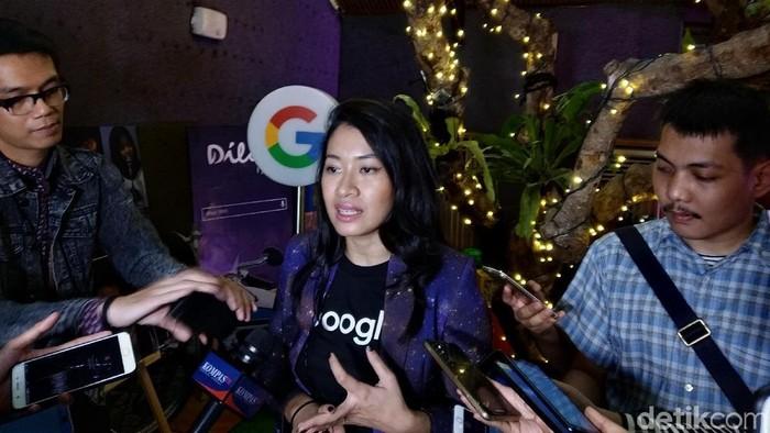 Search Marketing Manager Google Indonesia Mira Sumanti bicara soal prediksi trending 2019 (Foto: Muhamad Imron Rosyadi/detikINET)