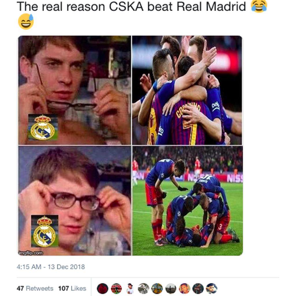 Real Madrid Luluh Lantak di Bernabeu, Meme pun Menyerbu