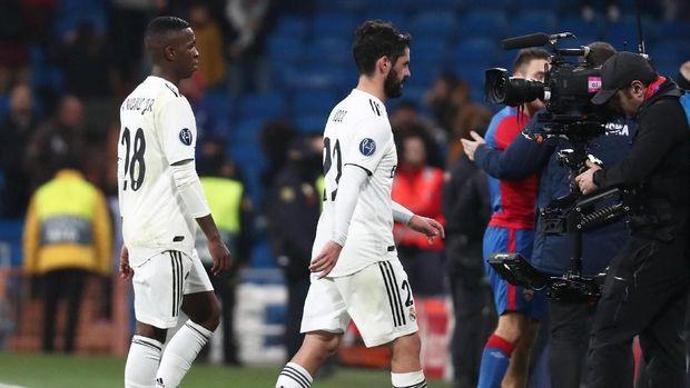 Real Madrid baru menelan kekalahan telak 0-3 dari CSKA Moskow di markas sendiri.
