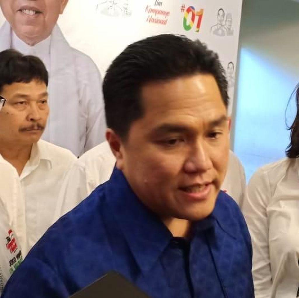 Baliho SBY Dirusak, Erick Thohir: Usut dan Tindak Tegas Pelakunya!