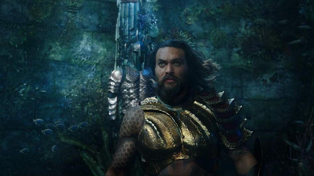 James Cameron Kritik Film Aquaman yang Tak Realistis