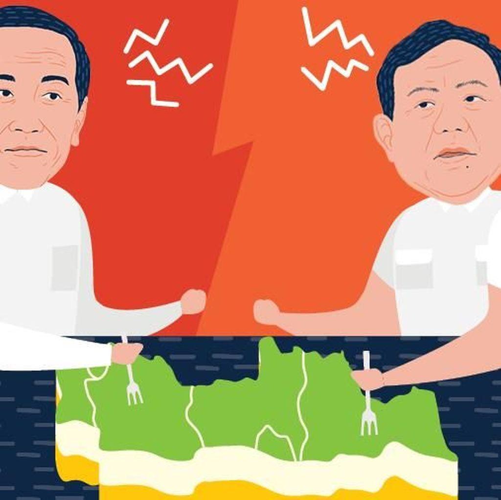Jokowi Vs Prabowo, Masihkah Jawa Adalah Kunci