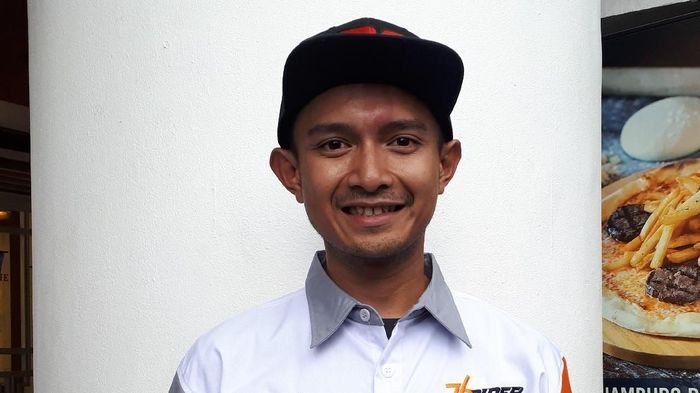 Dimas Ekky akan membalap di Moto2 2019. (Foto: Mercy Raya/detikSport)