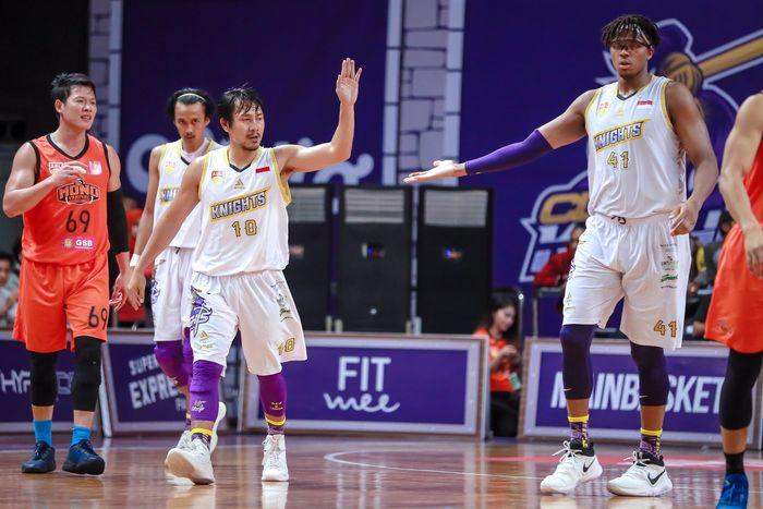 CLS Knights Indonesia mengalahkan Mono Vampire di ABL 2018. Foto: ist.